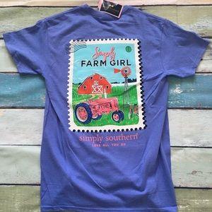 Simply Southern Farm Girl Shirt